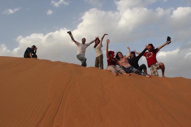 Pessoas do nosso tour - Gregos, Chinesa, Koreano, Americana, e Brasileiros!