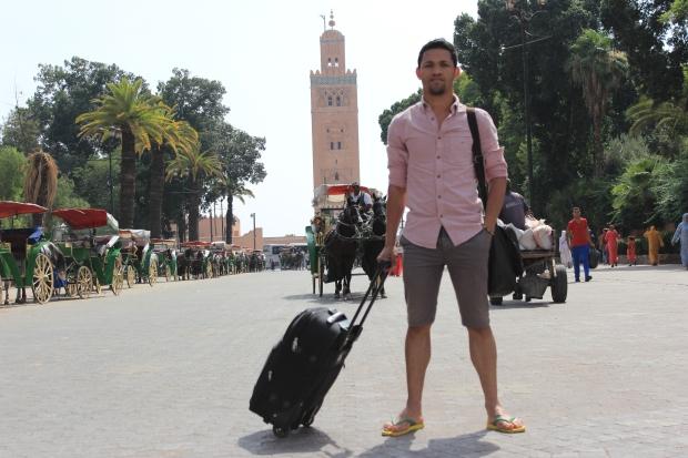 Antonio, amigo que me convidou pra Marrocos