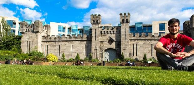 Dublin Castle, muito lindo!