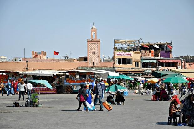 Praça principal Marrocos