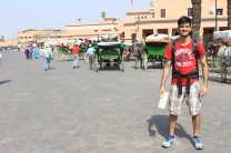 Jemaa El Fna - Praça Principal de Marrakech