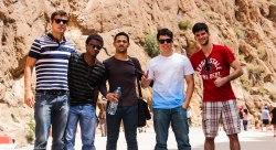 Turistas Brasileiros na viagem ao Deserto