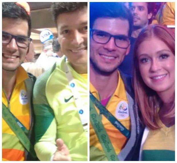 Rodrigo Faro e Marina Rui Barbosa